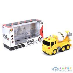 City Truck: Betonkeverő Teherautó Fénnyel És Hanggal (Magic Toys, MKL175235)
