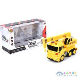 City Truck Daruskocsi Fénnyel És Hanggal 24Cm-Es (Magic Toys, MKL175217)