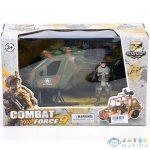 Combat Force 9 Katonai Helikopter Akció Figurával (Magic Toys, MKK345345)