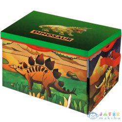 Dinoszauruszos 2 Az 1-Ben Játszószőnyeg És Tárolódoboz (Magic Toys, MKK136743)
