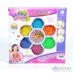 Ékszerkészítő Gyöngy Szett Színes És Csíkos Gyöngyökkel (Magic Toys, MKK292182)