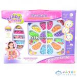 Ékszerkészítő Gyöngy Szett Tároló Tálcával (Magic Toys, MKK292065)