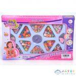 Ékszerkészítő Szett Betűs És Színes Gyöngyökkel, Medállal (Magic Toys, MKK292272)