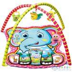 Elefántos Baby Játszószőnyeg Plüss Állatokkal 72X65X47Cm (Magic Toys, MKL265757)