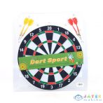 Fa Darts Tábla Nyilakkal 30Cm (Magic Toys, MKL323618)