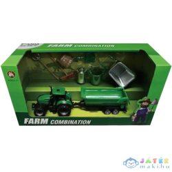 Farm Játékszett Traktorral És Szerszámokkal (Magic Toys, MKK587328)