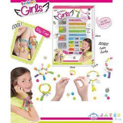 Fashion Fonalas Karkötő Szett Gyöngyökkel És Medálokkal (Magic Toys, MKL542174)