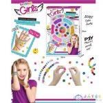 Fashion Karkötő Készítő Szett Emoji-S Gyöngyökkel És Kiegészítőkkel (Magic Toys, MKL542156)