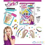 Fashion Karkötő Készítő Szett Csillagos És Emoji-S Gyöngyökkel (Magic Toys, MKL542165)