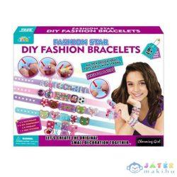 Fashion Star Karkötőkészítő Szett Betűkkel És Kiegészítőkkel (Magic Toys, MKL072572)
