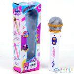 Fehér Mikrofon Hanggal És Fénnyel (Magic Toys, MKK451248)