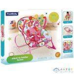 Fitch Baby: Elefántos Rózsaszín Babafotel Hanggal És Rezgéssel (Magic Toys, MKL147812)