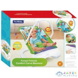 Fitch Baby: Esőerdős Foglalkoztató Babafotel Hanggal És Rezgéssel (Magic Toys, MKL147893)