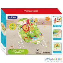 Fitch Baby: Oroszlános Foglalkoztató Babafotel Hanggal És Rezgéssel (Magic Toys, MKL147956)