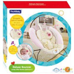 Fitch Baby: Szívecskés Bébi Bölcső Hanggal És Rezgéssel (Magic Toys, MKL147776)