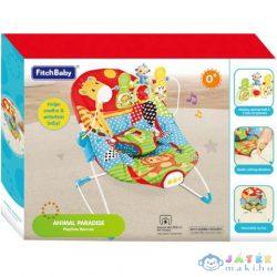 Fitch Baby: Zsiráfos Bébifotel Hanggal És Rezgéssel (Magic Toys, MKL147965)