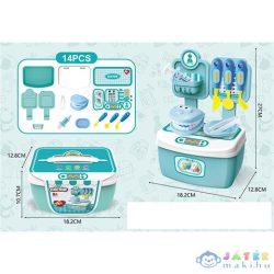 Fogorvosi Készlet Hordozható Tárolódobozban 14Db-os Szett (Magic Toys, MKL445217)