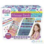 Girl'S Creator Karkötő Készítő Szett Betűs Gyöngyökkel (Magic Toys, MKL379310)