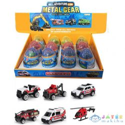 Gyűjthető Mentő Járművek Meglepetés Tojásban 1Db (Magic Toys, MKL322394)