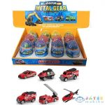 Gyűjthető Tűzoltó Járművek Meglepetés Tojásban 1Db (Magic Toys, MKL322367)