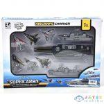 Haditengerészeti Játékszett Anyahajóval És Kiegészítőkkel (Magic Toys, MKL250970)