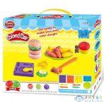 Hamburger Készítő Gyurma Szett Kiegészítőkkel (Magic Toys, MKL622463)
