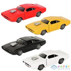 Hátrahúzós Dodge Charger 500 Kisautó Fénnyel És Hanggal 1/32 Többféle Változatban (Magic Toys, MKL621275)