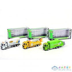 Hátrahúzós Teherautók Háromféle Változatban (Magic Toys, MKK407589)