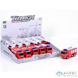 Hátrahúzós Tűzoltóautó 4 Változatban (Magic Toys, MKK206295)