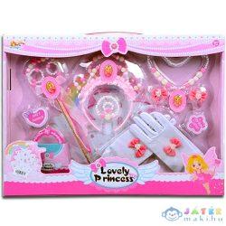 Hercegnő Kiegészítő Szett Kesztyűvel (Magic Toys, MKK413151)