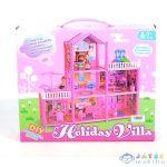 Holiday Villa Építsd Magad Pink Babaház Játékszett (Magic Toys, MKL528530)