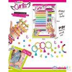 Karkötő Készítő Szett Színes Gyöngyökkel És Kiegészítőkkel (Magic Toys, MKL542138)