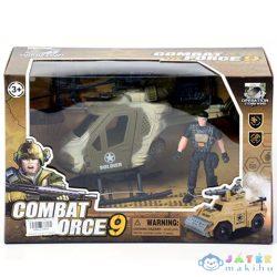 Katonai Harci Helikopter Katona Figurával (Magic Toys, MKK210534)