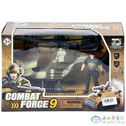 Katonai Helikopter Figurával (Magic Toys, MKK210489)