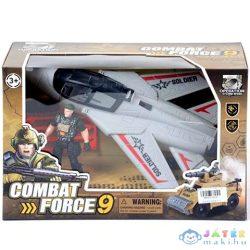 Katonai Vadászgép Figurával (Magic Toys, MKK210516)