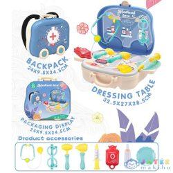 Kék 2Az1-Ben Orvosi Szett Gurulós Bőröndben Kiegészítőkkel (Magic Toys, MKL439367)