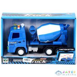 Kék Betonkeverő Teherautó Fénnyel (Magic Toys, MKK179970)