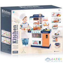 Kék Játékkonyha Fénnyel És Hanggal 76X23X53,5Cm (Magic Toys, MKL186746)