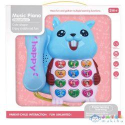 Kék Mókusos Telefon Fénnyel És Hanggal (Magic Toys, MKL560417)