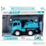Kék Szerelhető Darus Kocsi (Magic Toys, MKK419658)
