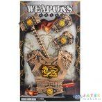 Középkori Kalapács Pajzzsal És Kézfej Védővel 4Db-os Szett (Magic Toys, MKL543290)