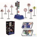 Közlekedési Táblák 9 Db-os Játékszett Fénnyel (Magic Toys, MKL587723)