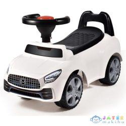 Lábbal Hajtós Autó Fehér Színben (Magic Toys, MKL641453)