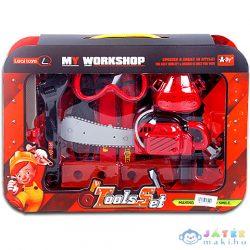 Láncfúrészes Szerszámszett Kiegészítőkkel (Magic Toys, MKE012181)