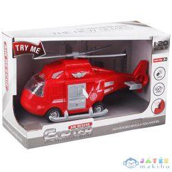 Lendkerekes Légimentő Helikopter Fénnyel És Hanggal 1/20 (Magic Toys, MKL402278)
