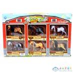 Ló Figurák 6 Db-os Játékszett (Magic Toys, MKL485069)