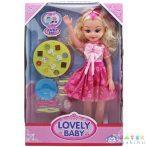 Lovely Baba Hanggal És Konyhai Felszereléssel 46Cm-Es (Magic Toys, MKL581054)