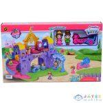 Luxus Kastély Építőkészlet Hintóval És 2Db Figurával (Magic Toys, MKL365891)