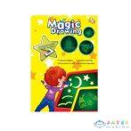 Mágikus Írótábla Szett Sablonnal És Tollal (Magic Toys, MKL325760)