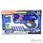 Max Attack: 2 Az 1-Ben Szivacstöltény És Zselés Lövedék Tüzelő Fegyver (Magic Toys, MKL174272)
